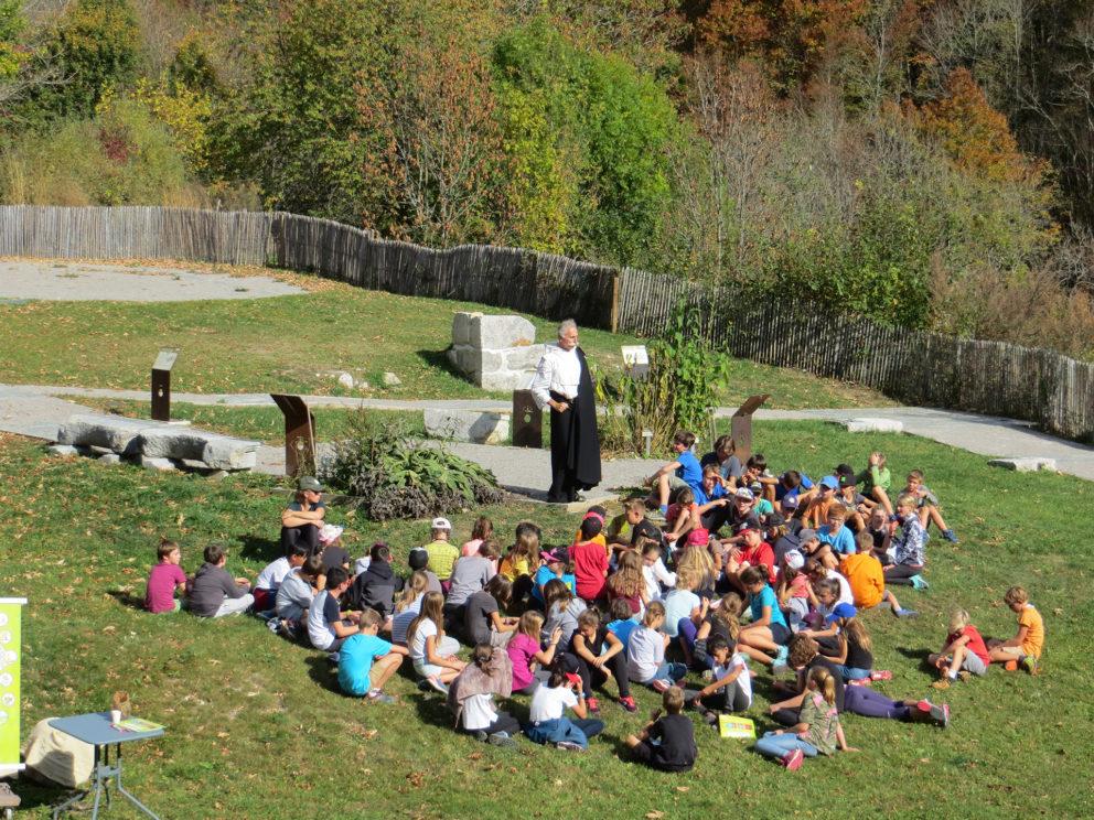 Visite groupe enfants - Chartreuse d'Aillon
