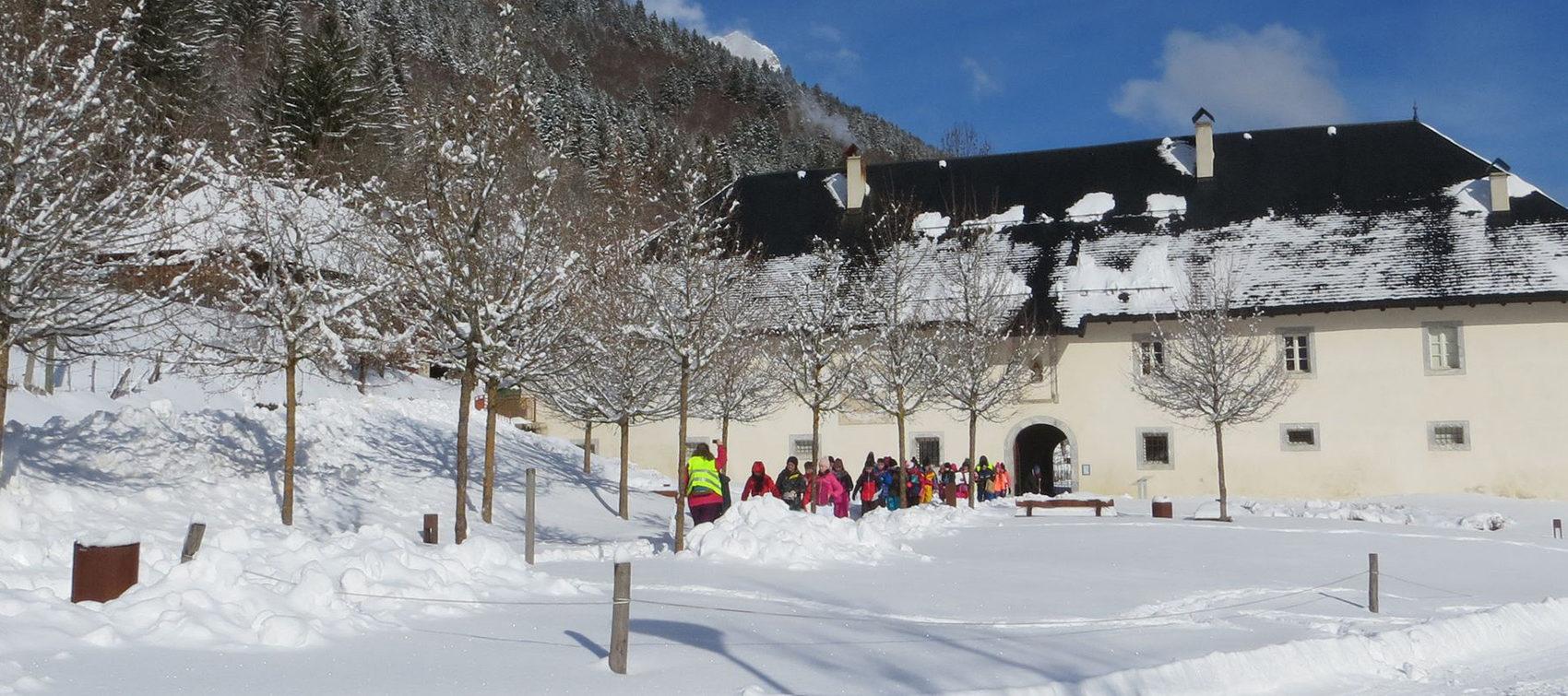 Chartreuse Aillon en hiver
