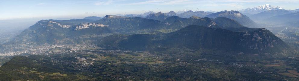 Panorama Bauges