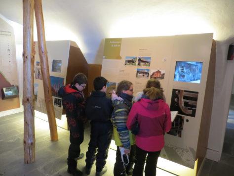 Visite groupe d'enfants Chartreuse Aillon