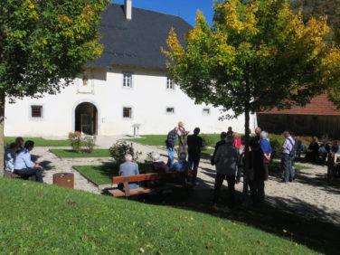 Visite groupe extérieur Chartreuse Bauges