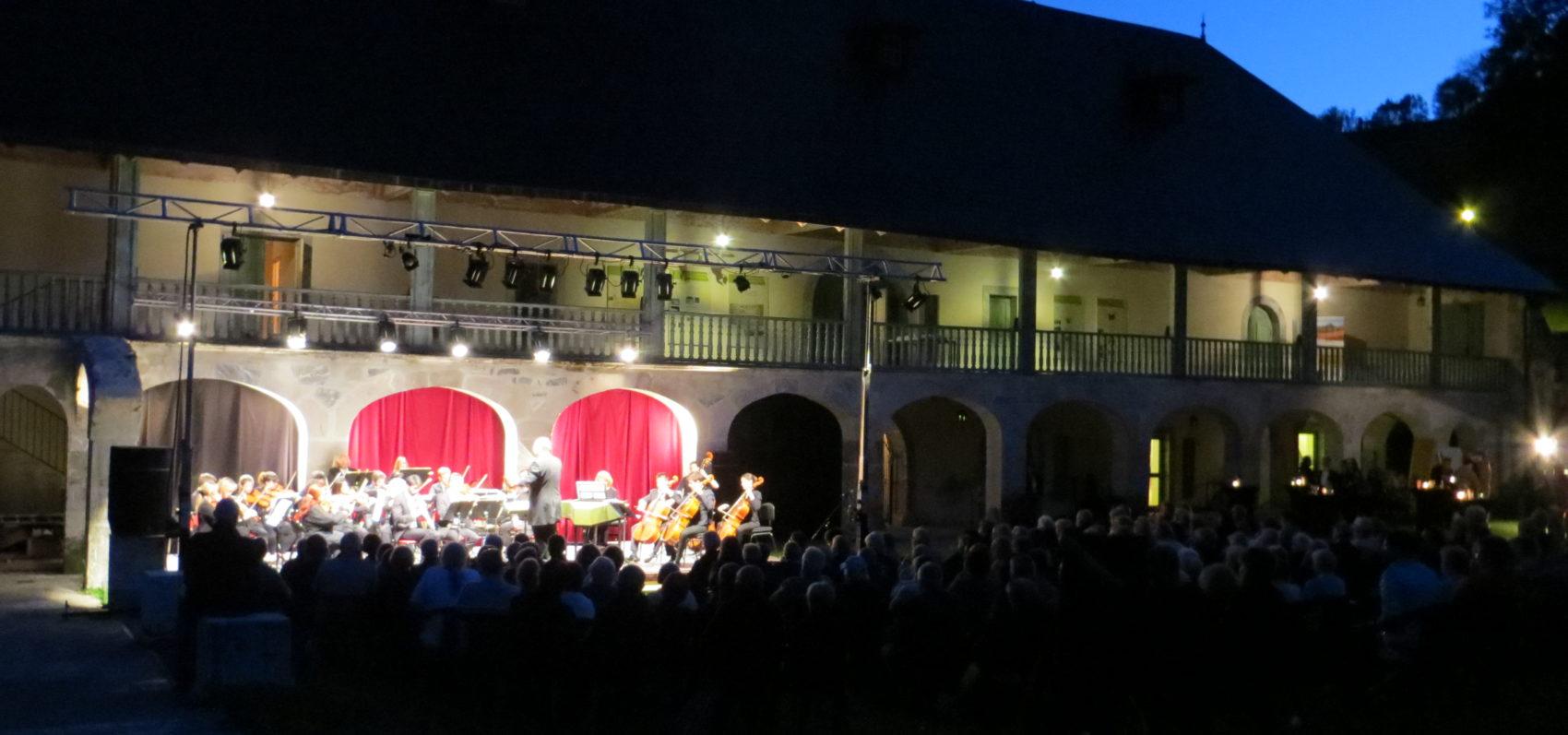 L'Orchestre des Pays de Savoie à la Chartreuse d'Aillon