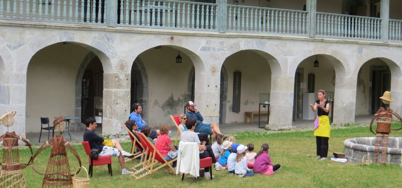 Contes à la Chartreuse d'Aillon les mercredis de juillet août 2020
