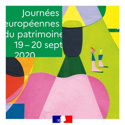 Image-logo national des Journées européennes du Patrimoine 2020