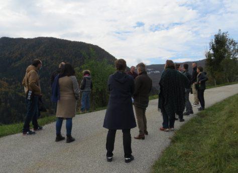 Enseignants du secondaire en formation sur le patrimoine métallurgique du massif des Bauges