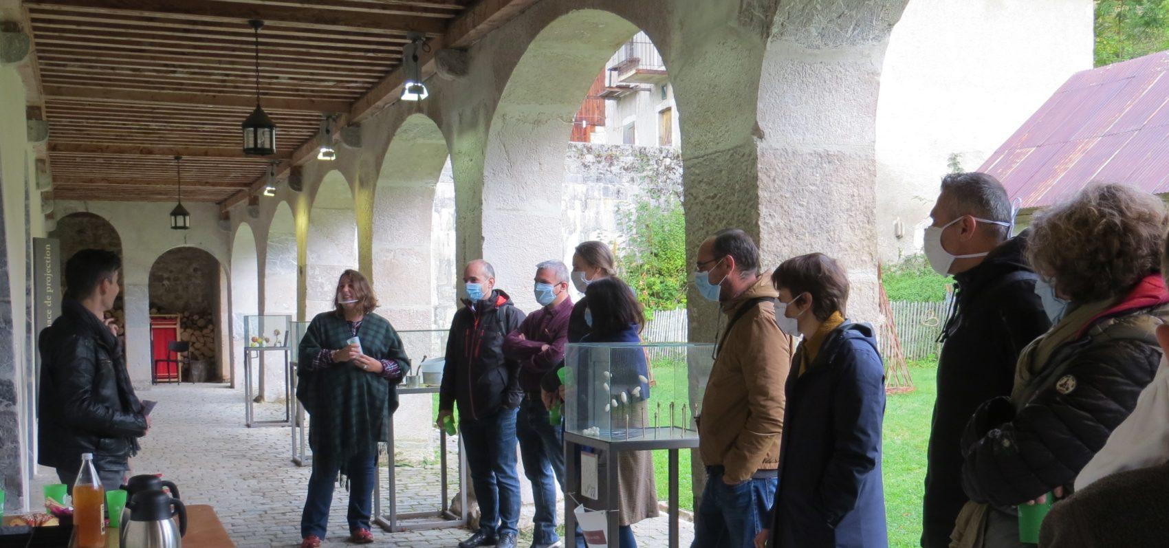 Enseignants du secondaire à la Chartreuse d'Aillon