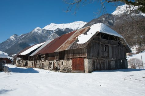 Batiment inventorié dans le cadre de la mission d'inventaire du patrimoine bâti du massif des Bauges, en partenariat avec la Région Auvergne Rhône Alpes
