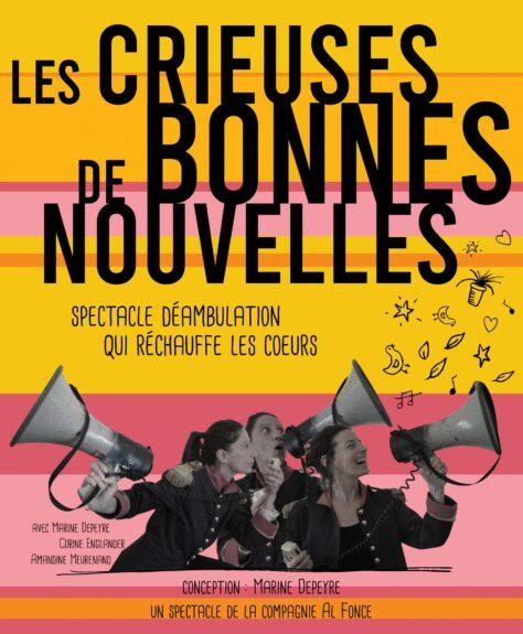 Les Crieuses de bonnes nouvelles débarquent à la Chartreuse d'Aillon