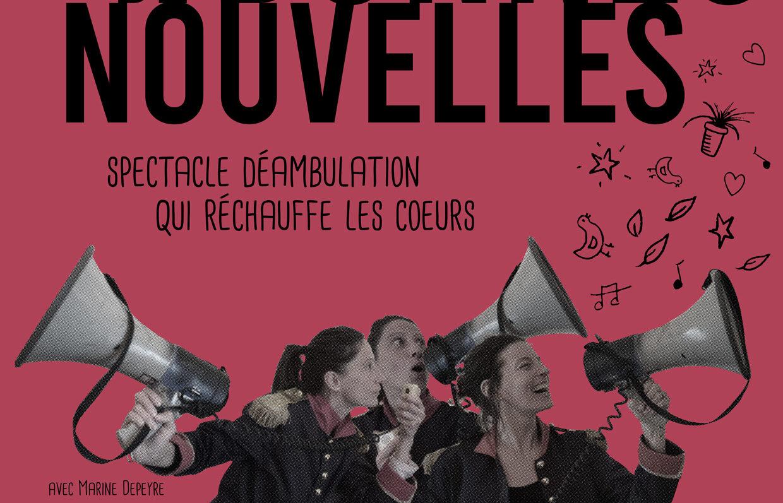 Un spectacle déambulation à la Chartreuse d'Aillon