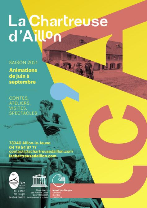 Programme des animations été 2021 à la Chartreuse d'Aillon